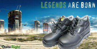 Veiligheidsschoenen; legendes worden geboren