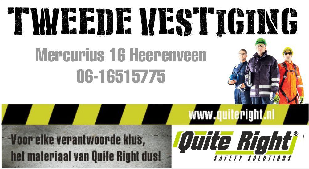 Quite Right Heerenveen PBM Veiligheid
