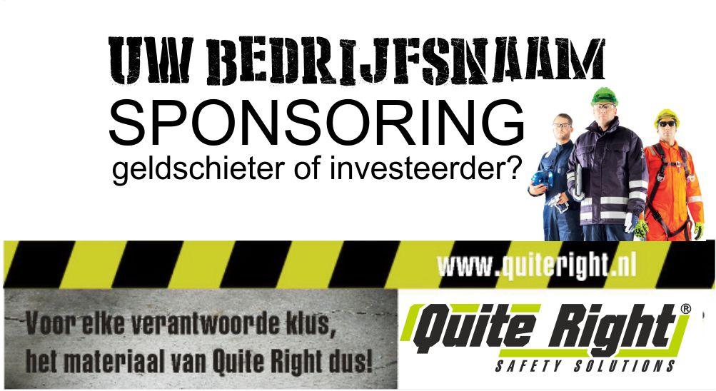quite right sponsor
